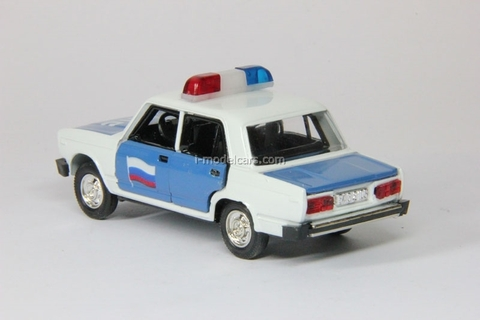 VAZ-2105 Lada DPS Police Agat Mossar Tantal 1:43