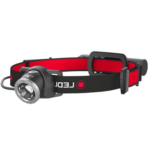 Фонарь налобный Led Lenser (500853) H8R черный светодиод 600lx