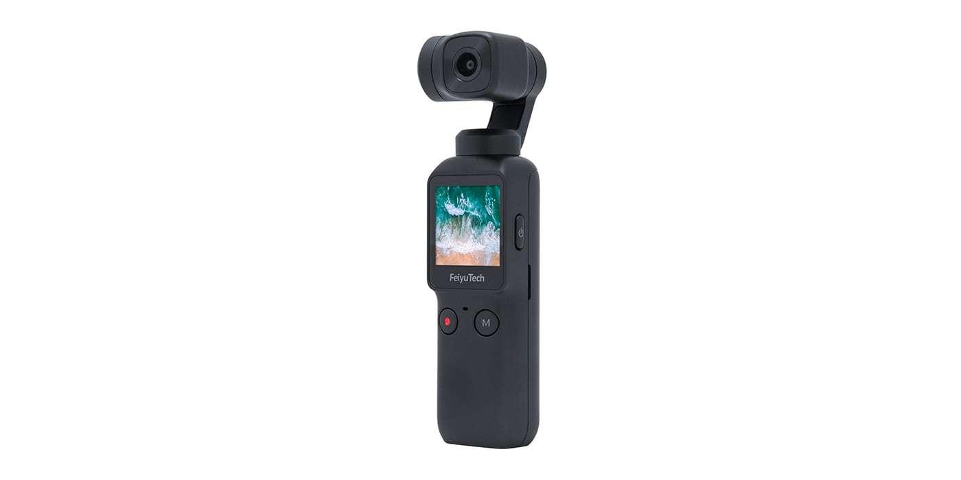 Экшн-камера Feiyu Pocket вид справа