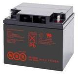 Аккумулятор WBR GP 12400 ( 12V 40Ah / 12В 40Ач ) - фотография