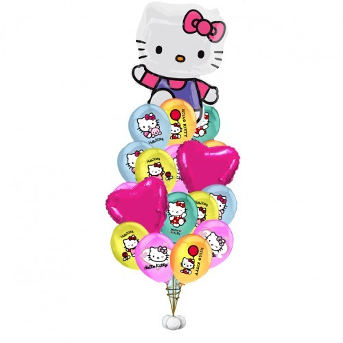 Композиции из шаров Букет Hello Kitty shari-hello-kitty--500x500.jpg