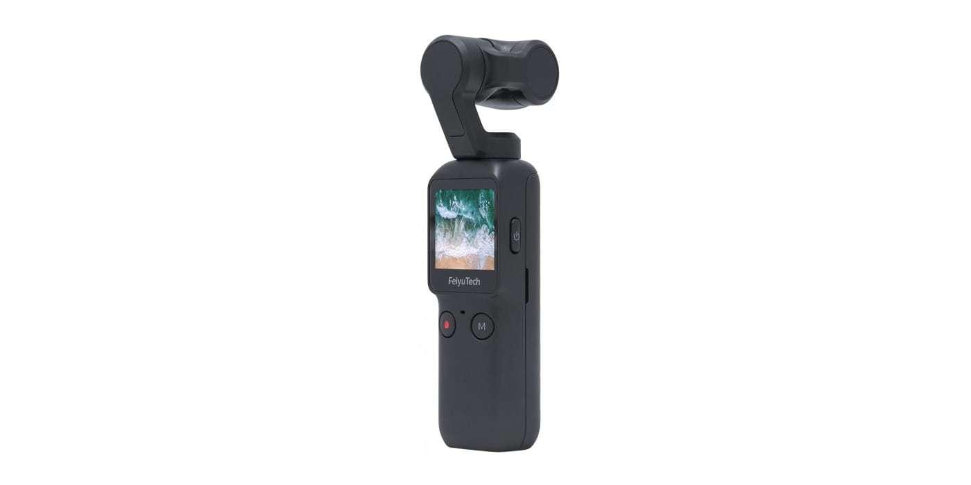 Экшн-камера Feiyu Pocket вид спереди