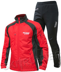 Тёплый лыжный костюм RAY OUTDOOR Red-Black 2019 мужской