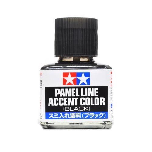 Tamiya Смывка Краска для финальной отделки модели Tamiya, Accent Color, Черная (Black), смывка 40мл 87131.jpg