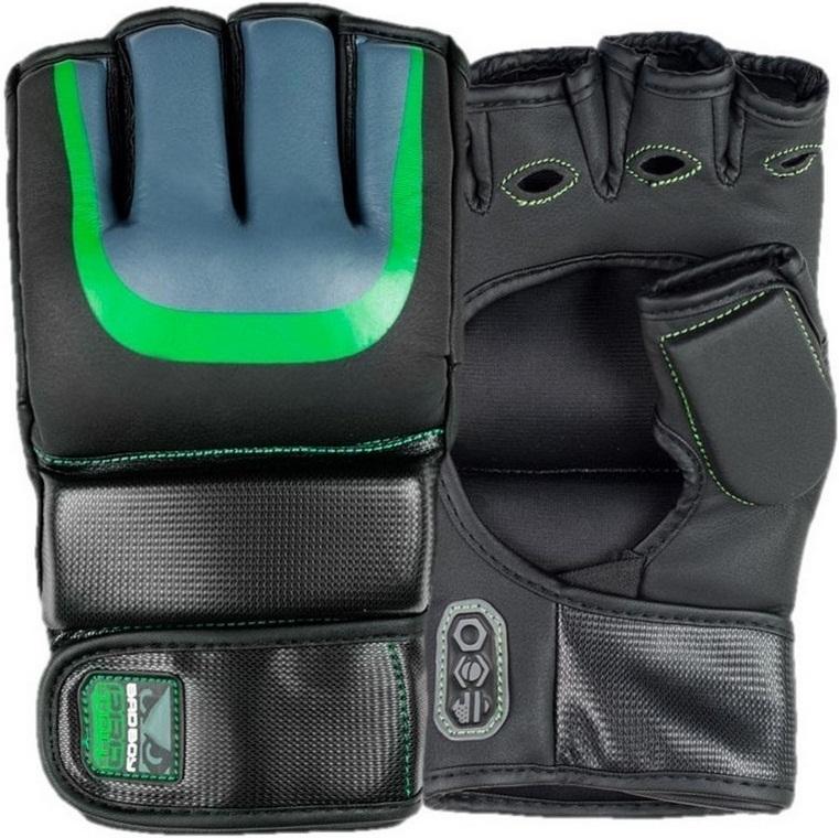 ММА перчатки Перчатки для ММА Bad Boy Pro Series 3.0 Gel MMA Gloves - Green 1.jpg