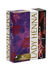 Краска на основе хны #6 БУРГУНД | 60 гр | Lady Henna
