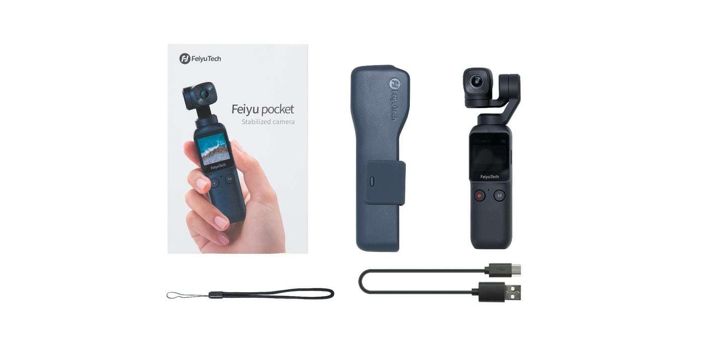 Экшн-камера Feiyu Pocket комплект