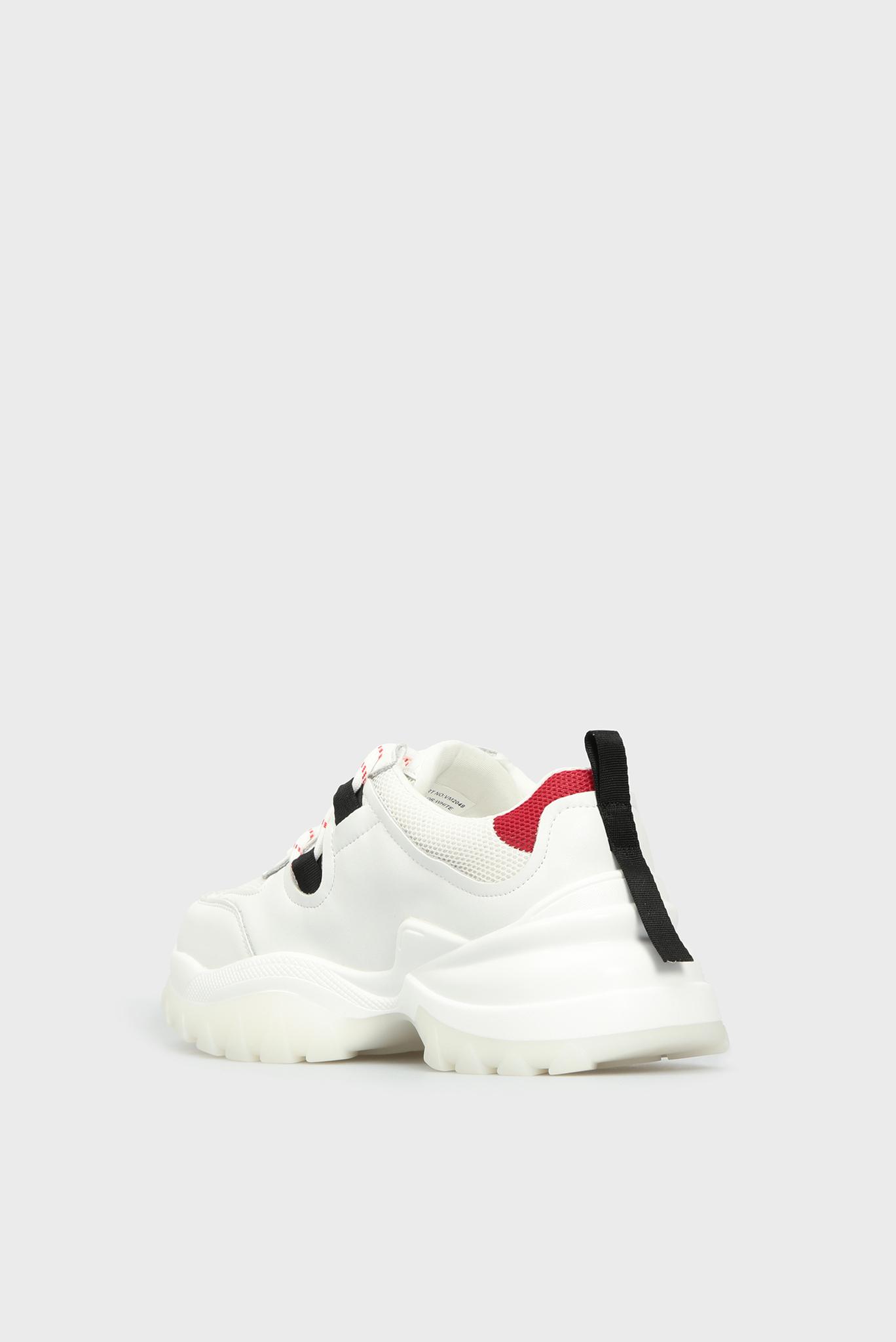 Женские белые кроссовки Preppy