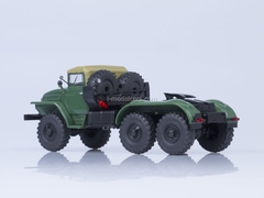 Ural-375S road tractor tarp covered cabin AutoHistory 1:43