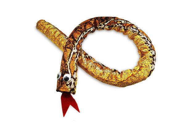 фокус со змеёй