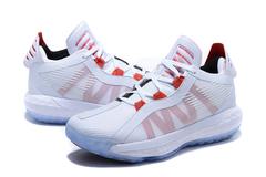 adidas Dame 6 'White/Scarlet'