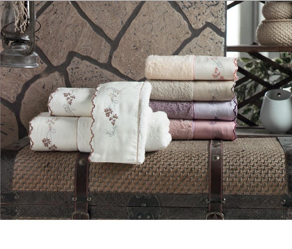 Наборы полотенец Набор полотенец ELYSEE - ЭЛИСИ 3пр 30х50 50х90 и 70х140 Maison Dor (Турция) ELYSEE.jpg