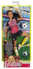 Кукла Барби Футболистка (Брюнетка)