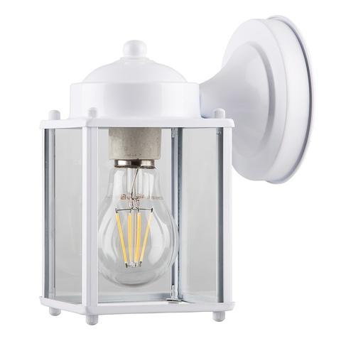 Садово-парковый светильник FERON PL200 E27 белый