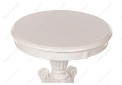 Журнальный столик Мун (Moon) Butter white