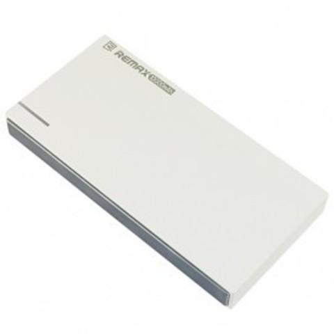 Аккумулятор внешний REMAX RE-POWER RPP-58 10000 mah с функцией кард ридера micro sd белый