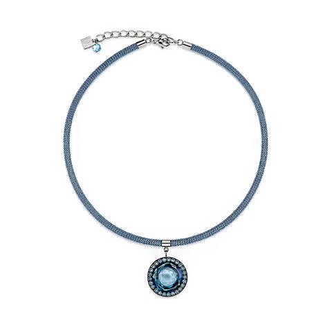 Колье Coeur de Lion 4835/10-0700 цвет голубой