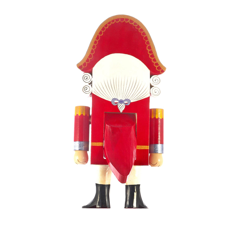 Игрушка Щелкунчик классический в красном мундире