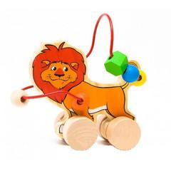 Игрушки из дерева Лабиринт-каталка