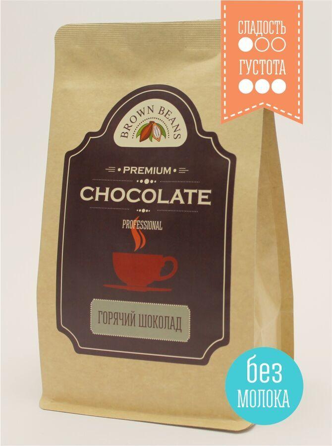 Горячий шоколад с сахаром без молока, 500г