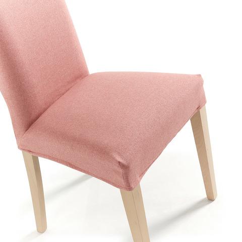 Стул Freia розовый ножки натуральные