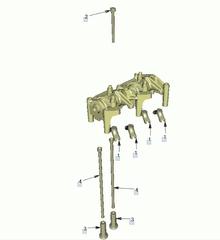 Коромысло двигателя МАН ТГЛ Д0836 (51042006031)   Несущая балка двигателя МАН ТГЛ D0836 (51042020165)   №       OEM      Наименование детали   1 - 51041200023 мост клапана MAN   2 - 06032168332 6-гран. фланцевый винт MAN   2 - 06032156332 6-гран. фланцевый винт MAN   3 - 51043010131 Толкатель клапана MAN   4 - 51043020062 Штанга толкателя MAN   Разборка МАН/MAN.   Разбираем грузовики МАН, разбираемые нами авто все из Европы, б/у  запчасти в отличном состоянии. Наш товар уже был в употреблении, но это не означает, что  он низкого качества. Каждый из наших сотрудников имеет многолетний опыт работы с  подобными автомобилями. Подбор запчастей по VIN-номеру автомобиля, отправка по всей  России, гарантия на запчасти!   Помимо б/у запчастей МАН, вы так же можете приобрести у нас высококачественный аналог  Европейских, Турецких и Китайских производителей.  Новые запчасти на МАН