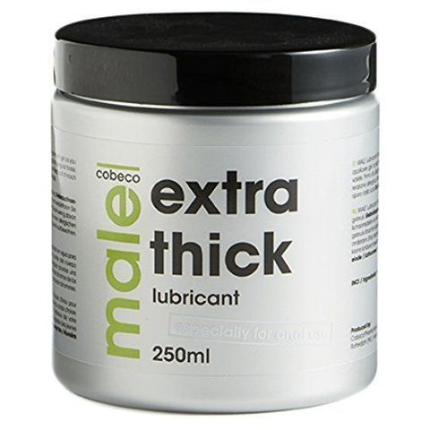 Силиконовая смазка для анального секса Cobeco Lubricant Extra Thick - 250 мл.
