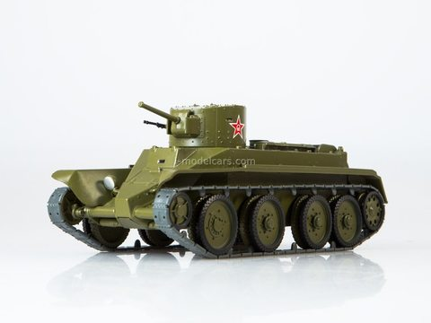 Tank BT-2 Our Tanks #25 MODIMIO Collections