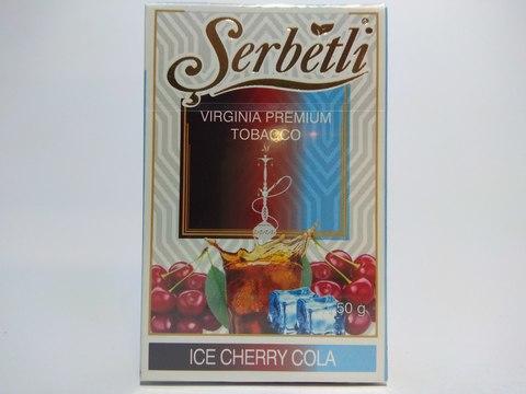 Табак для кальяна SERBETLI Ice Cherry Cola 50gr