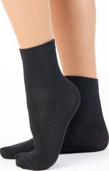 C05 носки женские, черные (10 шт)