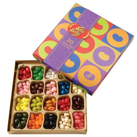 Конфеты Jelly Belly «Ассорти 20 вкусов» (лучший подарок)