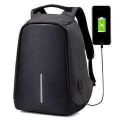 Рюкзак-антивор Kalidi USB Черный