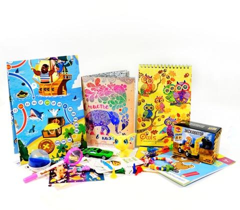 Детский набор для путешествий 5-7 лет
