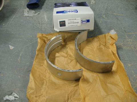 Вкладыши коренные коленчатого вала / MAIN BEARING KIT АРТ: 10000-60188