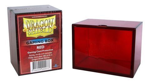DS Deckboxes: Acrylic Red (100)