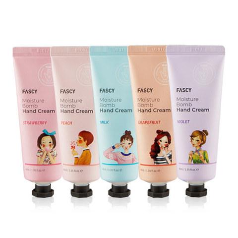 Крем для рук FASCY New Moisture Bomb Hand Cream 80ml #Новая упаковка