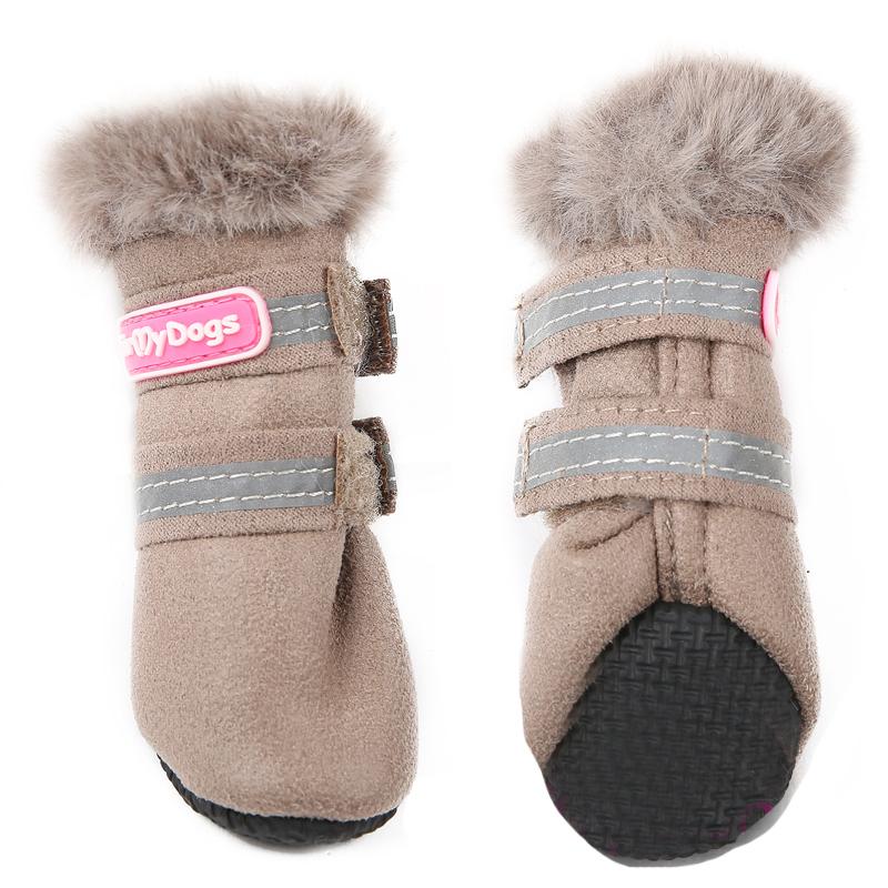 Зимние ботинки для чихуахуа