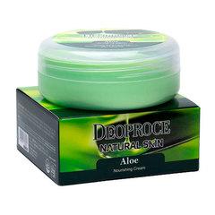 Deoproce Natural Skin Aloe Nourishing Cream - Питательный крем для лица и тела с экстрактом алоэ