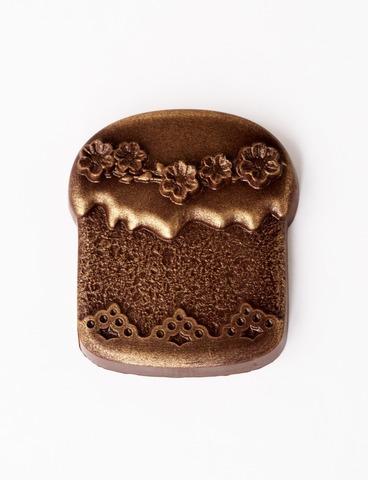 Шоколад Пасхальный кулич  62% какао/50г.