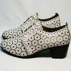 Босоножки туфли женские Arella 426-33 White.