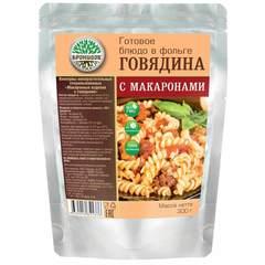 Говядина с макаронами 'Кронидов', 250г