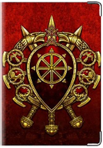 """Обложка для паспорта """"Щит и меч"""""""