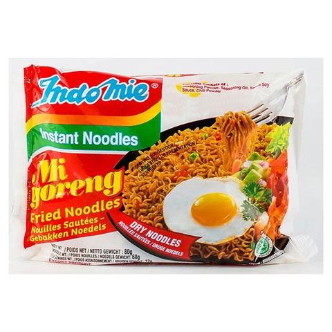 Лапша индонезийская Ми Горенг (жареная) в пакете Indomie, 80г