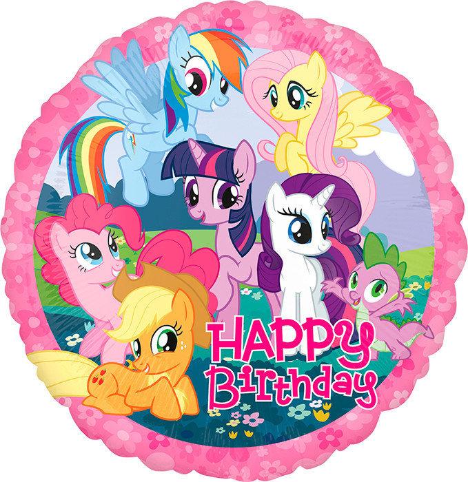 Шарики Пони Шар круг My Little Pony С Д.Р. 5697.970.jpg