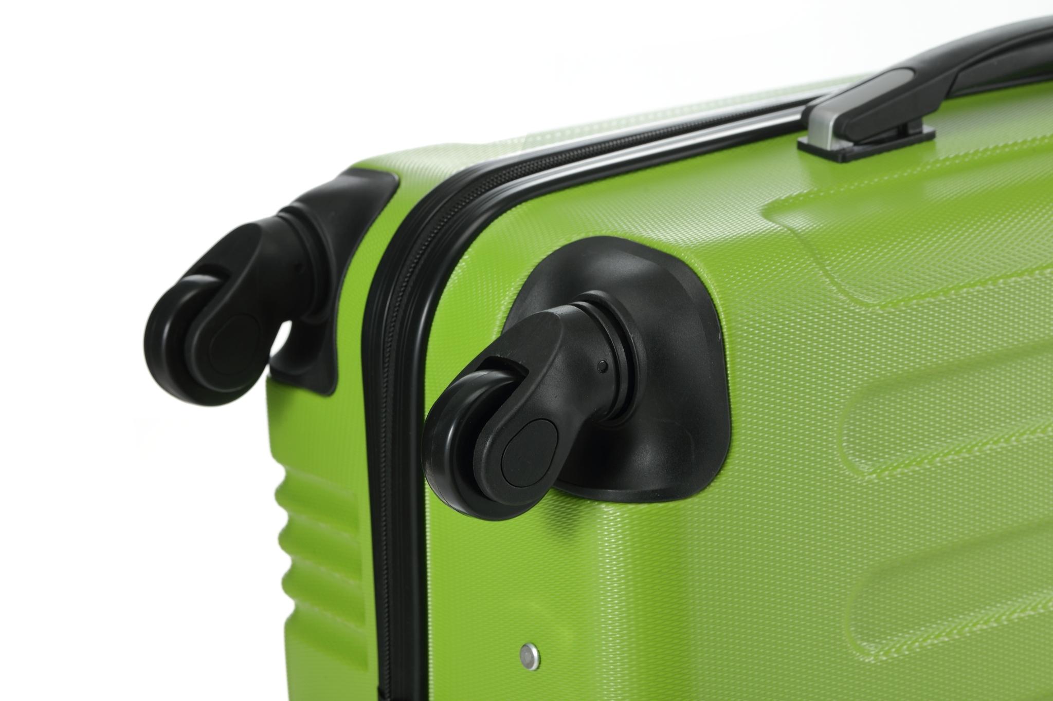 Чемодан со съемными колесами L'case Bangkok-26 Зеленый (L)