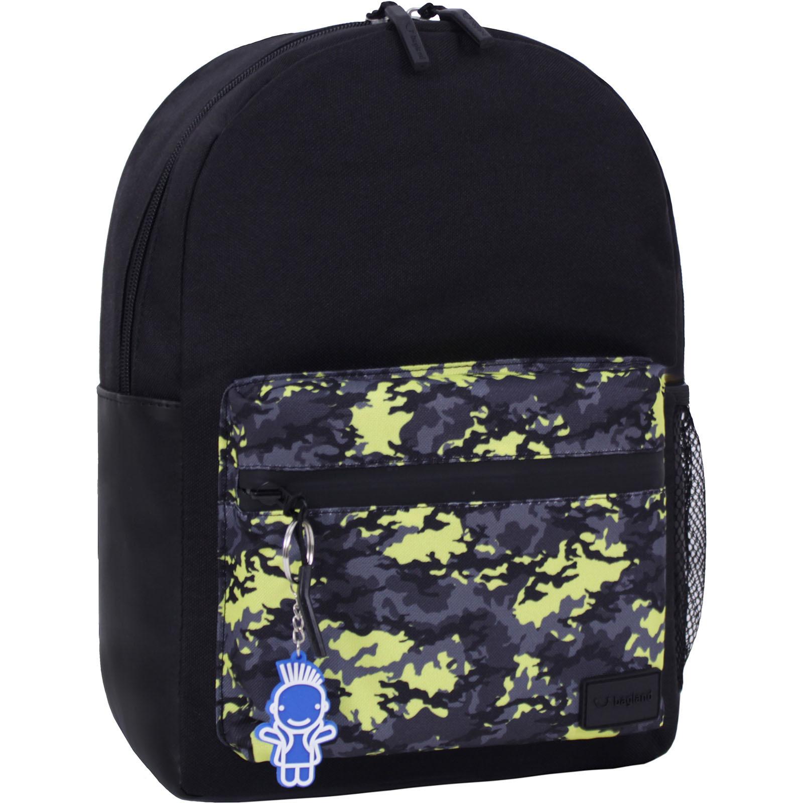 Молодежные рюкзаки Рюкзак Bagland  Frost 13 л. черный сублимация 454 (00540663) IMG_4389_суб.454_.JPG