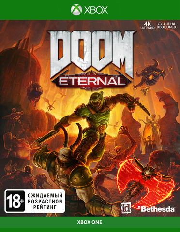 Xbox One DOOM Eternal (русская версия)