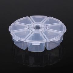 Контейнер круглый пластиковый для мелочей №5