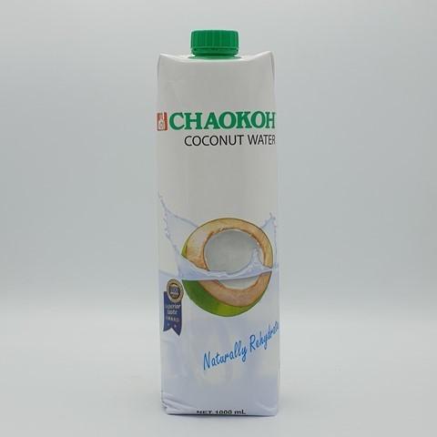 Кокосовая вода без сахара CHAOKOH, 1 литр