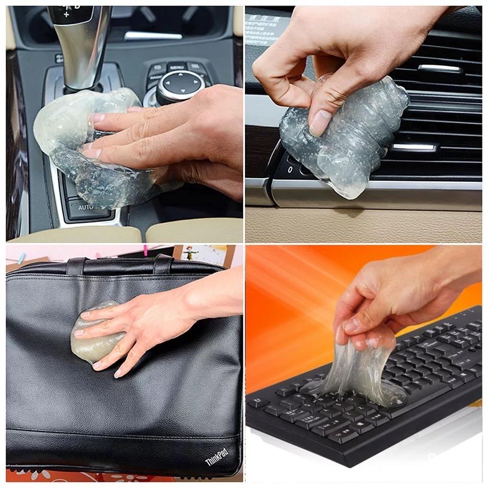 Лизун Очиститель пыли для клавиатуры и воздуховода, салона автомобиля, 200 г фото
